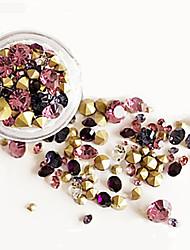 abordables -75 Manucure Dé oration strass Perles Maquillage cosmétique Nail Art Design