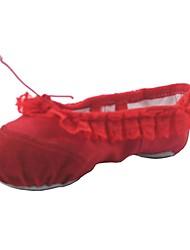 economico -Per donna Scarpe da danza classica Di corda Ballerine Piatto Personalizzabile Scarpe da ballo Bianco / Nero / Rosso