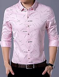 cheap -Men's Boho Shirt Print