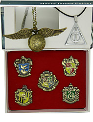 cheap -Clock/Watch Badge Inspired by MAGI Ace Anime Cosplay Accessories 1 Necklace Clock/Watch 1 Watch Zinc Alloy
