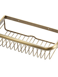 cheap -Bathroom Shelf High Quality Antique Brass 1 pc - Hotel bath