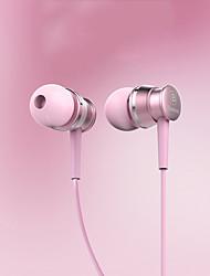 cheap -Baseus EL-01 Ear earphone sensitive metal drive-by-wire 3.5 mm gold-plated