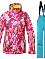 cheap -Women's Ski Jacket Warm Ventilation Windproof Wearable water-resistant Ski / Snowboard Multisport Snowshoeing Winter Sports Polyester