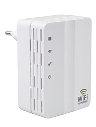 cheap -AD-607U 300M Office Home Wireless Network Repeater Wifi Signal Amplifier European Plugs