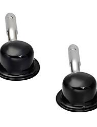 Недорогие -шляпа Черный Запонки Медь На каждый день Классический Повседневные На выход Муж. Бижутерия