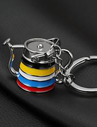 cheap -Family Keychain Favors Chrome Keychain-1