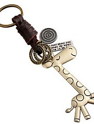 cheap -Keychain Jewelry Leather Alloy Animal Sweet Lovely Daily