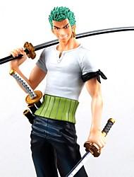 economico -Figure Anime Azione Ispirato da One Piece Roronoa Zoro 21 CM Giocattoli di modello Bambola giocattolo