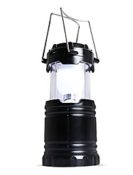 cheap -Lanterns & Tent Lights / Emergency Lights LED 90lm Automatic Mode Form Fit Camping / Hiking / Caving Black / Coffee
