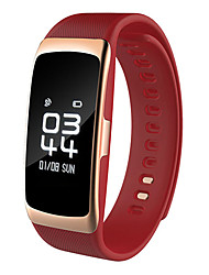 Недорогие -hhy новый s68 умный браслет шагомер кровяное давление сердечный ритм здоровье браслет ip68 глубина водонепроницаемый
