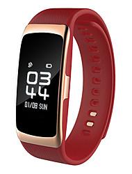 cheap -HHY New S68 Smart Bracelet Pedometer Blood Pressure Heart Rate Health Bracelet Ip68 Depth Waterproof