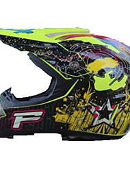 Недорогие -Мотоциклетный шлем BMX Шлем CE Велоспорт 4 Вентиляционные клапаны С возможностью регулировки Пластик + + PCB Водонепроницаемый Обложка