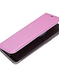Недорогие -Кейс для Назначение SSamsung Galaxy S8 Plus S8 Бумажник для карт со стендом Флип Чехол Сплошной цвет Твердый Кожа PU для S8 Plus S8 S7