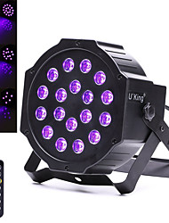 cheap -U'King LED Stage Light / Spot Light DMX 512 Master-Slave Sound-Activated Remote Control 18 for Club Party Outdoor Professional High