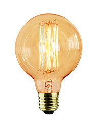 cheap -E27 40W G80 Straight Wire Restaurant Hotel Ball Edison Retro Decorative Light Bulb