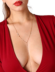 abordables -Mujer Collares de cadena - Dorado, Plata Gargantillas Para Fiesta, Diario