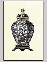 baratos -Tela de impressão Contemprâneo Clássico Rústico Modern, 1 Painel Tela de pintura Horizontal Estampado Decoração de Parede Decoração para