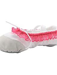 economico -Scarpe da danza classica Di corda Ballerine Piatto Personalizzabile Scarpe da ballo Bianco / Nero / Rosso