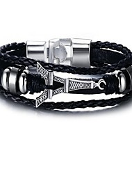 cheap -Men's Chain Bracelet , Alloy Geometric Jewelry Gift Daily