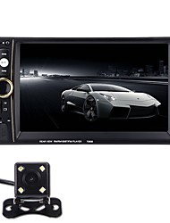 cheap -6.6 Inch Car MP5 Player 7090B 2 Din FM Radio Bluetooth Support Mobile Internet Rear View Camera