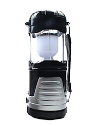 cheap -Lanterns & Tent Lights Emergency Lights LED 120 lm Automatic Mode LED with Battery Form Fit Camping/Hiking/Caving Black