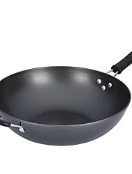 Cast Iron Plastic Flat Pan Multi-purpose Pot,32*9