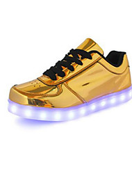 cheap -Men's PU(Polyurethane) Spring / Fall Comfort Sneakers Gold / Silver