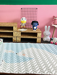 baratos -Tapetes de banho casual retângulo criativo de algodão