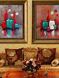 preiswerte -Tiere Ölgemälde Wandkunst,Plástico Stoff Mit Feld For Haus Dekoration Rand Kunst Drinnen