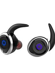 baratos -T1 No ouvido Sem Fio Fones Piezoeletricidade Plástico Condução Fone de ouvido Mini Com Microfone Fone de ouvido