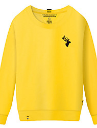 cheap -Women's Going out Sweatshirt Print