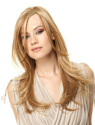 cheap -Women Synthetic Wig Long Straight Hair Strawberry Blonde Cosplay Wig.