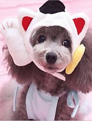 abordables -Gato / Perro Bandanas y Sombreros Ropa para Perro Retazos Tejido de Algodón Disfraz Para mascotas Animales / Año Nuevo