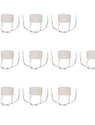 Недорогие -10 шт. GU10 Держатель лампы с проволокой GU10 Световой разъем Керамика Аксессуары для ламп 100 Вт