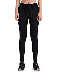 cheap -Women's Running Tights - Black Sports Tights / Leggings Yoga, Fitness, Gym Activewear Quick Dry