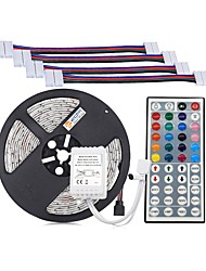 economico -ZDM® 300 LED 5M String Light 1 telecomando da 44Keys Colori primari Accorciabile DC 12V