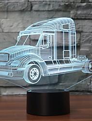 cheap -Novelty LED Night Light Truck 3D Lamp Color-Change Touch Sensor Decoration Table Lamp