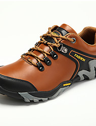 abordables -Homme Chaussures Cuir Nappa Printemps Eté Confort Chaussures d'Athlétisme Randonnée pour Athlétique Décontracté Noir Brun claire Brun