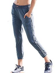 abordables -Mujer Pantalones de Running - Gris oscuro Deportes Licra Pantalones / Sobrepantalón Ropa de Deporte Transpirabilidad