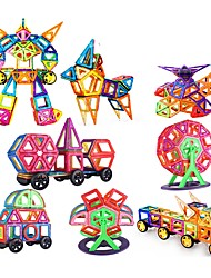 cheap -Magnetic Blocks Building Blocks 200pcs Square Circular Car Transformable Parent-Child Interaction Classic & Timeless Chic & Modern