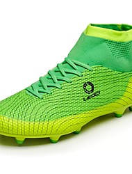 cheap -Men's Shoes PU Spring Fall Comfort Athletic Shoes Soccer Shoes Lace-up for Athletic Orange Blue Light Green