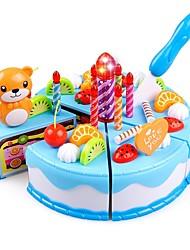 abordables -Jouets Cuisine & Faux Aliments Jouet Circulaire Couteaux à Gâteau & Biscuit Gâteau Nourriture et Boisson Soulagement de stress et