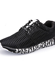 cheap -Men's Shoes PU Leatherette Tulle Spring Light Soles Comfort Athletic Shoes Walking Shoes Cycling Shoes Fitness & Cross Training Shoes