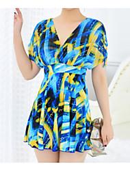 abordables -Femme Une-pièce Géométrique Robes