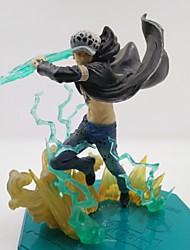 cheap -Anime Action Figures Inspired by One Piece Trafalgar Law PVC CM Model Toys Doll Toy