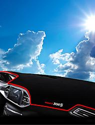 Недорогие -автомобильный Маска для приборной панели Коврики на приборную панель Назначение Peugeot Все года 308S