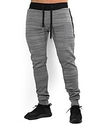 preiswerte -Herrn Laufhosen Atmungsaktivität Hosen/Regenhose Übung & Fitness Outdoor Übungen Laufen Polyester Schwarz Rot Grün Grau M L XL XXL XXXL