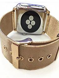 economico -Cinturino per orologio  per Apple Watch Series 3 / 2 / 1 Apple Cinturino a maglia milanese Acciaio inossidabile Custodia con cinturino a