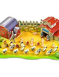 Недорогие -Наборы для моделирования Прямоугольная Взаимодействие родителей и детей Ручная работа утонченный Мягкие пластиковые Животные Современный