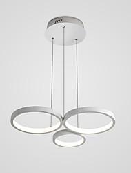 billiga -Hängande lampor Glödande Aluminium Kiselgel LED 110-120V / 220-240V Varmt vit / Kall vit LED-ljuskälla ingår / Integrerad LED